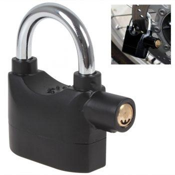 Alarm Lock - Candado Con Alarma 110dba para motos y bicicletas Acuatico Seguridad Premium