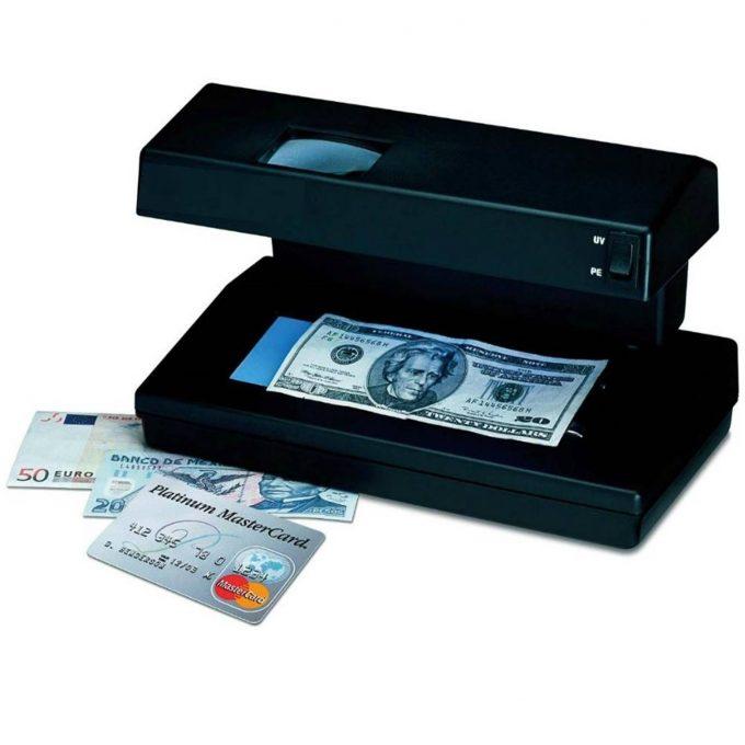 Detector De Billetes En Soles Y En Monedas Internacionales Falsos con Lupa