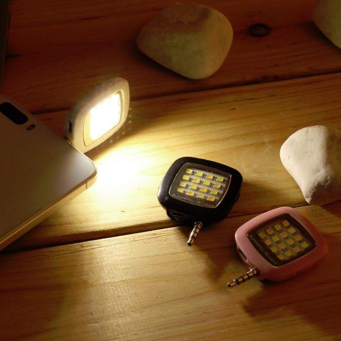 FlashLight - Luz Iluminación Para Selfie Celular smartphone Flash Recargable