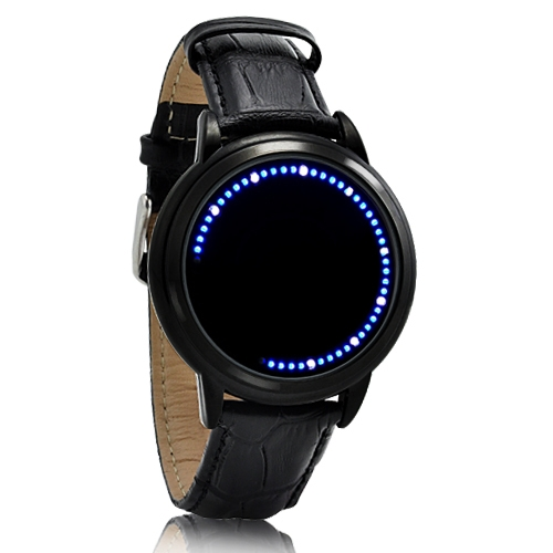 Reloj Led Modelo Tron Touch Screen Lujo Digital Binario Moderno Luz 2016