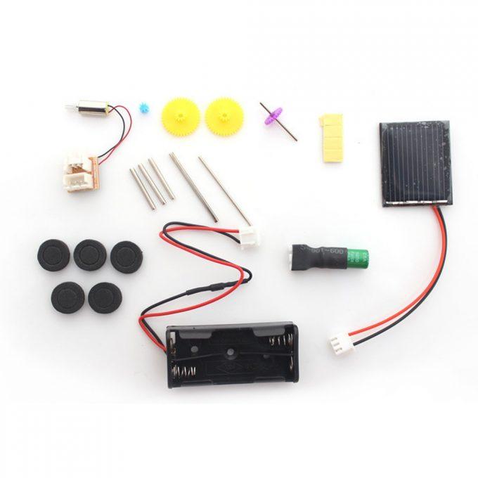 Kit Solar Educativo 7 en 1 energía solar recargable Espacio Flota modelo de juguete