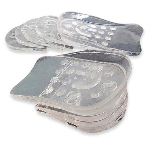 Elevate shoes Plantillas Elevadoras de Silicona, aumenta de talla al instante