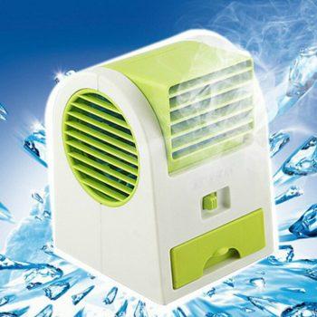 Mini Aire Acondicionado - Ventilador Portátil Enfriamiento USB  Mini Aire Acondicionado Aromatizador