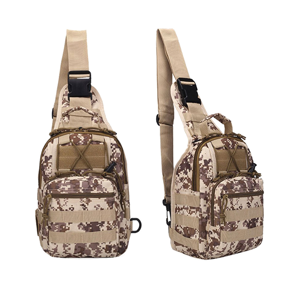 Digitalizado Morral Tactico Crossbody Mediana Militar Mochila WHYED29eI